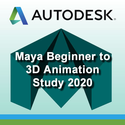 Maya Beginner to 3D Animation Study 2020
