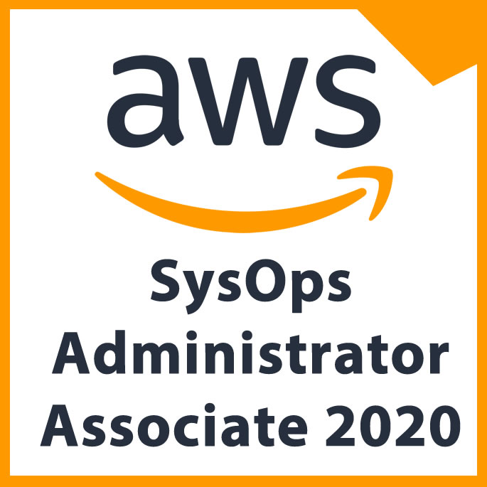 SysOps Administrator Associate 2020 (AWS) Certification Study